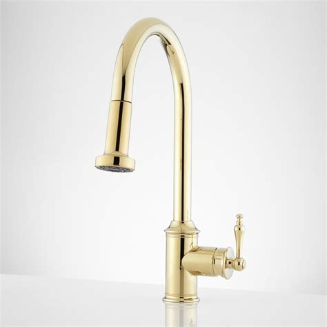 kitchen faucets pull signature hardware westgate single pull kitchen
