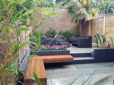 patio garden designs modern garden design sandstone paving patio