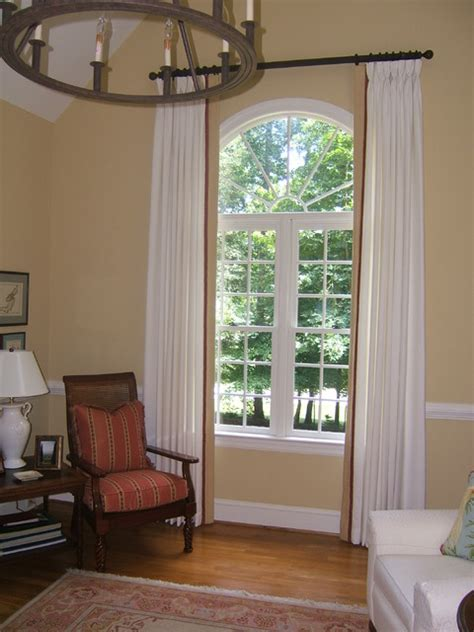 living room tall arched window living room richmond