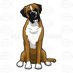 boxer dog clipart many interesting cliparts