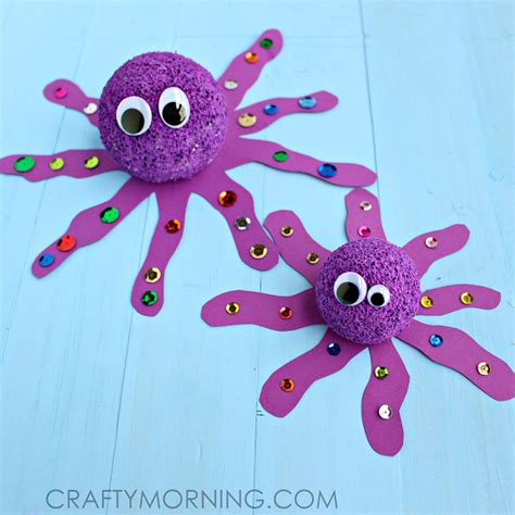 octopus crafts for foam octopus craft for crafty morning