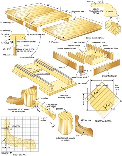 free woodworking blueprints diy table blueprints plans plans free