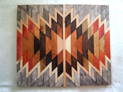artistic woodworking wooden kilim wall sawdust and embryos