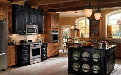 rustic black kitchen cabinets black rustic kitchen cabinets by kraftmai kitchen designs