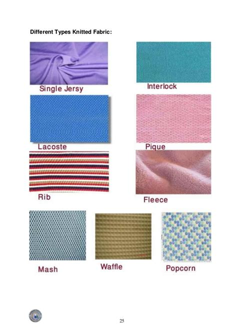 different types of knitted fabrics industrial attachment of cotton club bd ltd