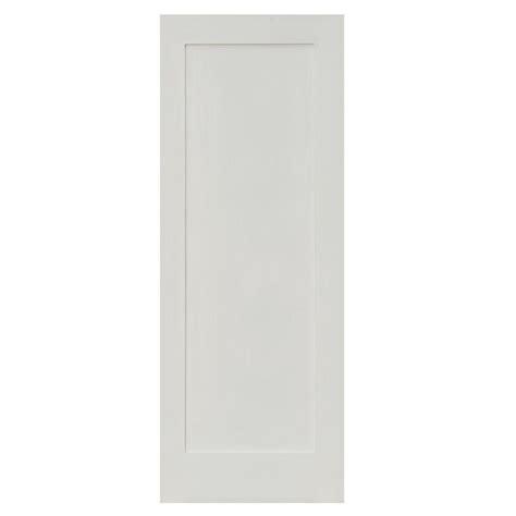 solid mdf interior doors krosswood doors 32 in x 80 in shaker 1 panel primed
