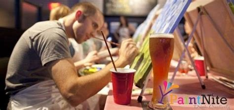 paint nite groupon toronto dinner drinks painting pub paint nite the