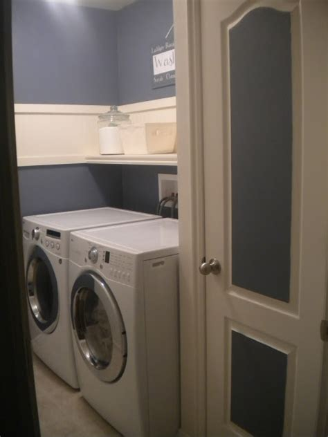 paint colors laundry room remodelaholic 25 ideas for small laundry spaces