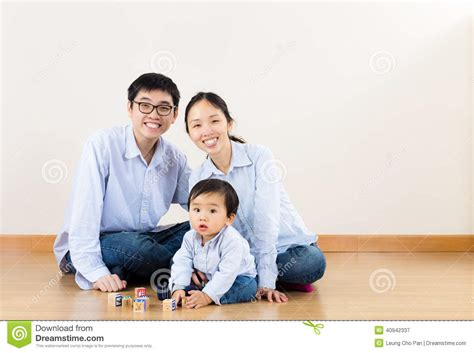 family play asian family play together stock photo image 40942337