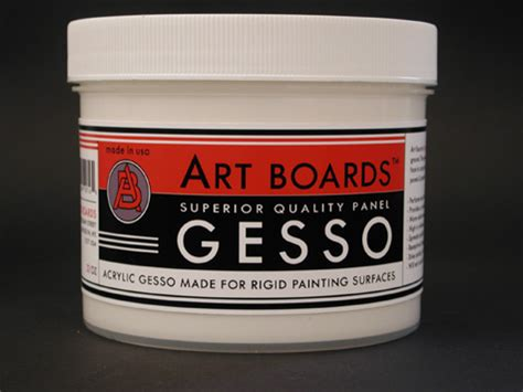 acrylic painting gesso boards acrylic gesso for rigid painting surfaces