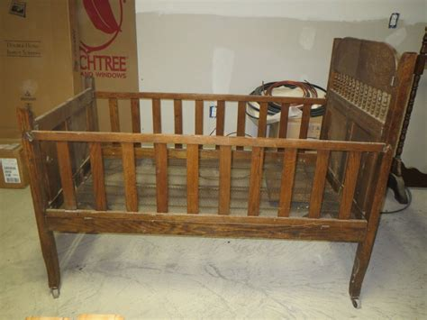 antique baby cribs fantastic antique 1800 s folding baby crib bed wood all