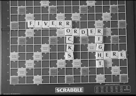 how do you spell scrabble spell out your message in scrabble tiles and send y
