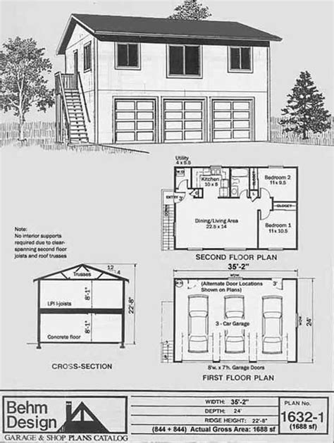 one story garage apartment plans garage apartment plans one story home interior design
