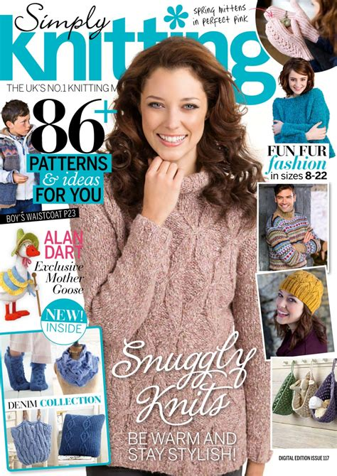 simply knitting simply knitting magazine issue 117 subscriptions