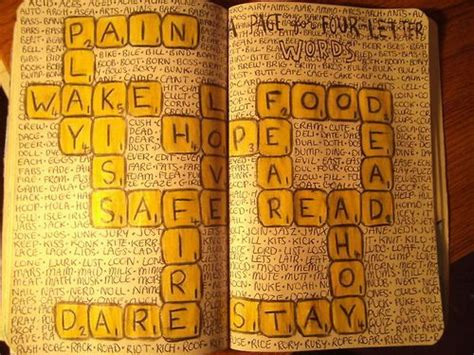 4 letter words in scrabble wreck this journal letters and scrabble on