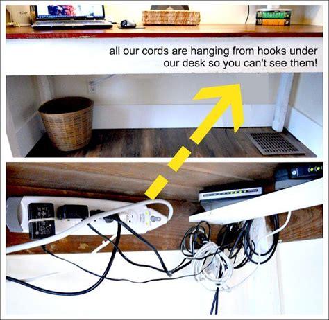 hide computer wires desk 25 best ideas about hide computer cords on hiding computer cords organize cords