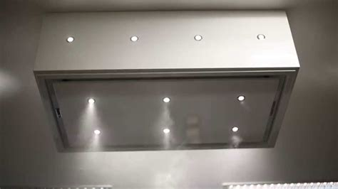 ceiling box light anzi ceiling extractor drop box white with led