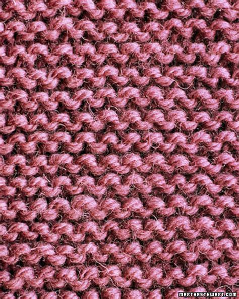 how to add stitches in knitting basic scarf pattern martha stewart