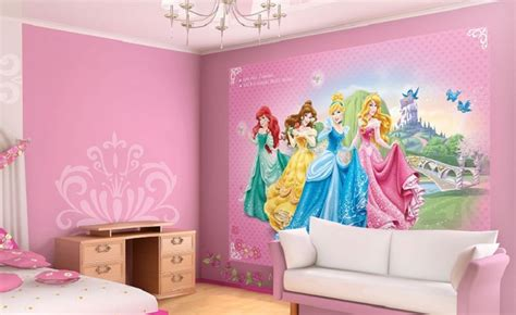 Disney Fairies Wall Mural princess pink wall murals for girls homewallmurals co uk
