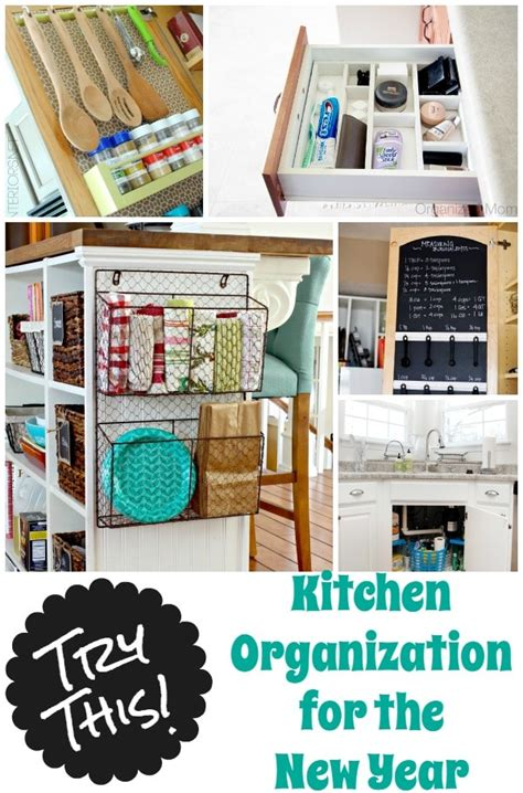 kitchen office organization ideas 36 tips for getting organized in 2016 four generations one roof