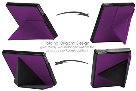 origami cover forefront cases 174 purple origami smart cover for