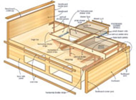 captains bed woodworking plans diy how to build a captains bed with drawers plans free