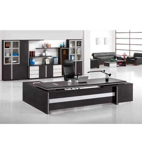 high end executive office furniture modern high end black oak chocolate malamine executive