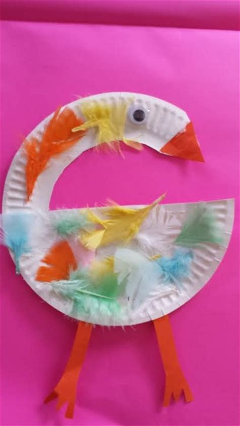 swan paper craft paper plate swan family crafts