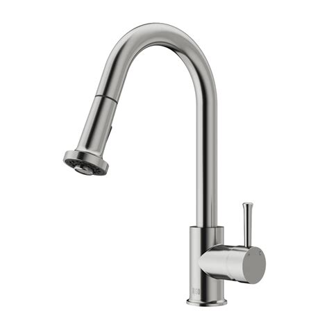 stainless steel kitchen faucet with pull spray vigo vg02002st stainless steel pull out spray kitchen