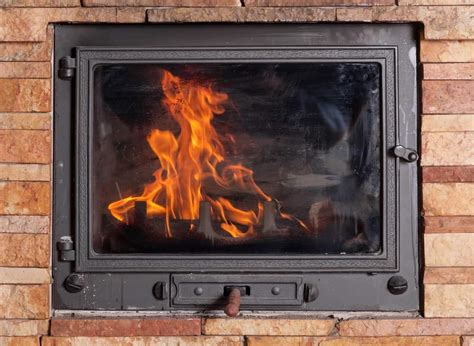 clean burning fireplace what is the best way to clean fireplace glass finest fires