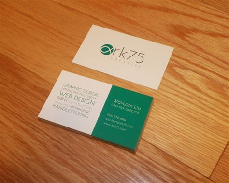 cards for profit ark75 business cards ark75