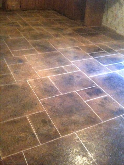 tile designs for kitchen floors kitchen floor tile patterns concrete overlay random