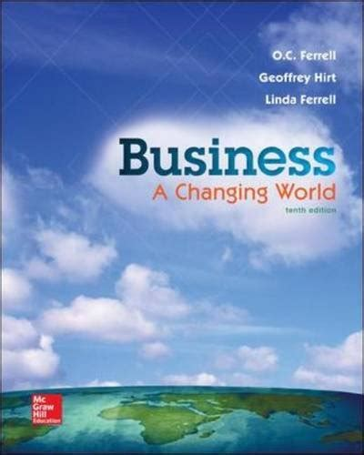 foundations of business standalone book book review business a changing world standalone book