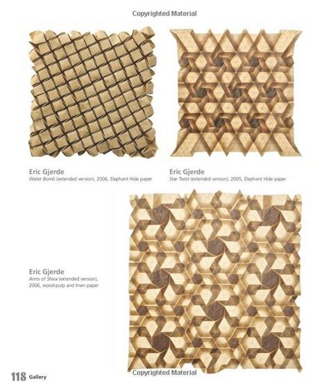 origami tessellations awe inspiring geometric designs 80 best images about structure on paper