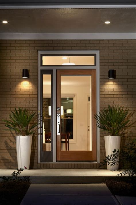exterior door lights 5 modern front doors for 2016 dallas door designs