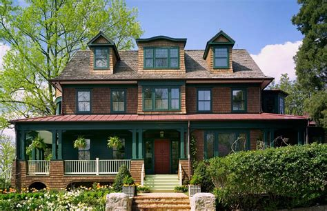 designing a new shingle style house with classic style