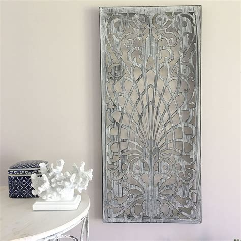 outdoor garden wall decor decorative rectangle metal wall panel garden screen