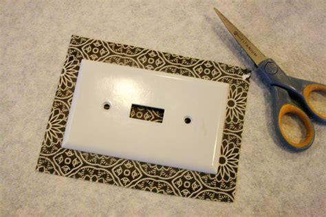 decoupage switch plates decoupage light switch plates tutorial jones design