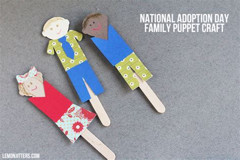 family crafts for craftaholics anonymous 174 national adoption day craft