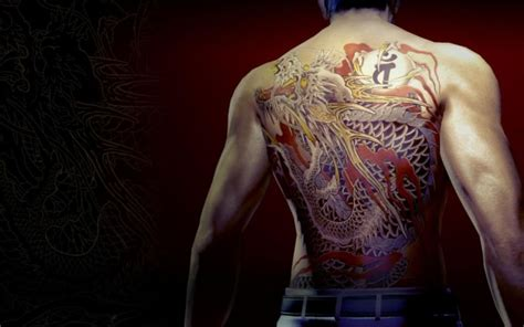 the tattoos of yakuza kotaku uk