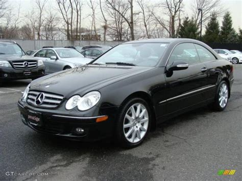 Mercedes Clk350 Coupe by 2007 Black Mercedes Clk 350 Coupe 25500821