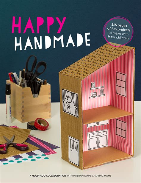 crafts for diy mollymoocrafts happy handmade craft ebook