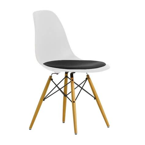 eames chair dsw eames plastic side chair dsw gepolstert h43cm vitra
