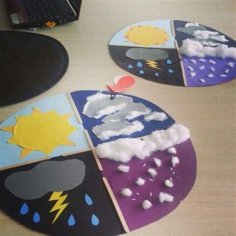 weather crafts for weather wheels esl kindergarten preschool crafts