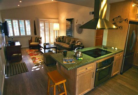 kitchen family room ideas open kitchen in small house home design by