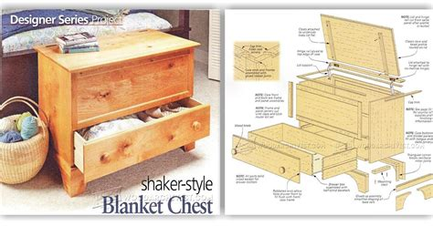blanket chest woodworking plans blanket chest plan woodarchivist
