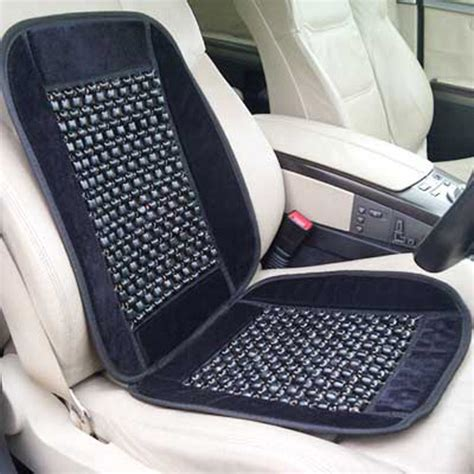 bead seat covers black wooden bead beaded massaging car seat cover new