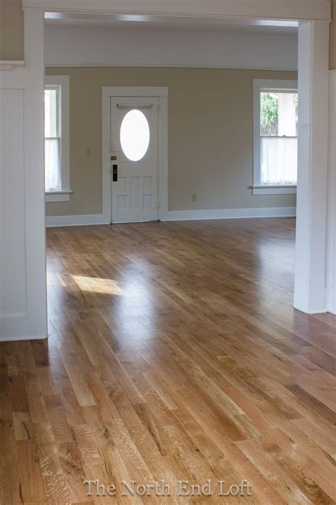 paint colors with wood floors minwax special walnut on white oak floors how this
