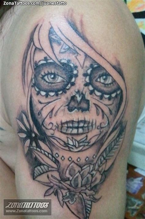 pin tatuaje de juanestatto catrina on pinterest