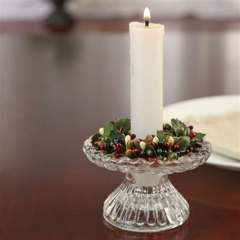 candle ring burgundy black and pip berry candle ring candles